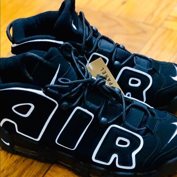 Nike Air Uptempo 2016 Black Men's Size 9